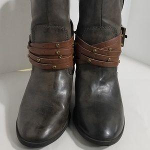 MIA Heeled Ankle Booties sz 7.5